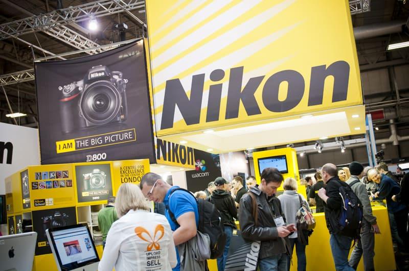 Nikon at Focus on Imaging 2013 at Birmingham NEC
