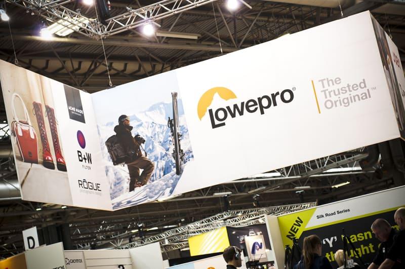 Lowepro at Focus on Imaging 2013 at Birmingham NEC