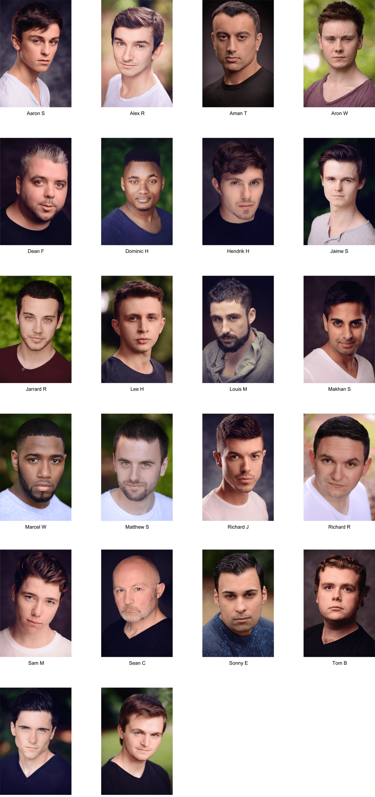 Best Actor Headshot Competition 2014 Aimee Spinks