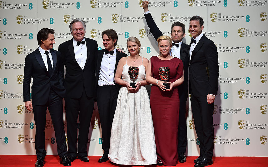 Boyhood take home the awards for Best Film, Director and Supporting Actress.