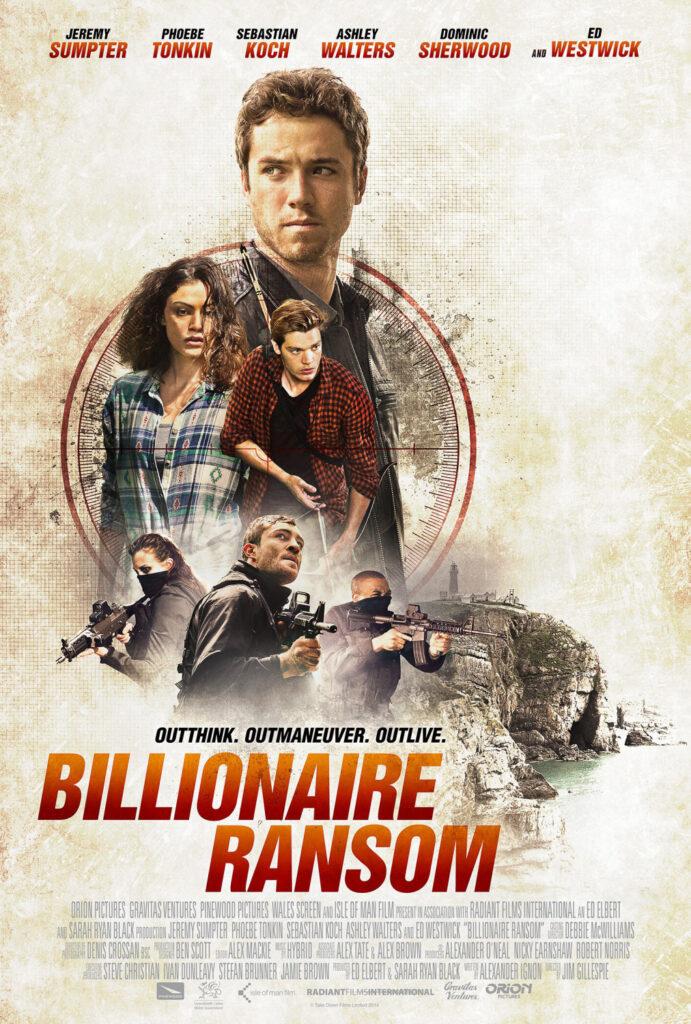 Movie poster for Billionaire Ransom