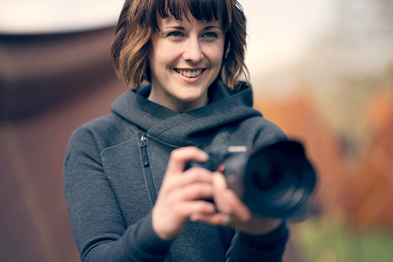 Portrait of Aimee Spinks Advertising Photographer