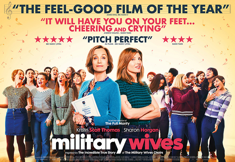 Poster for the movie Military Wives